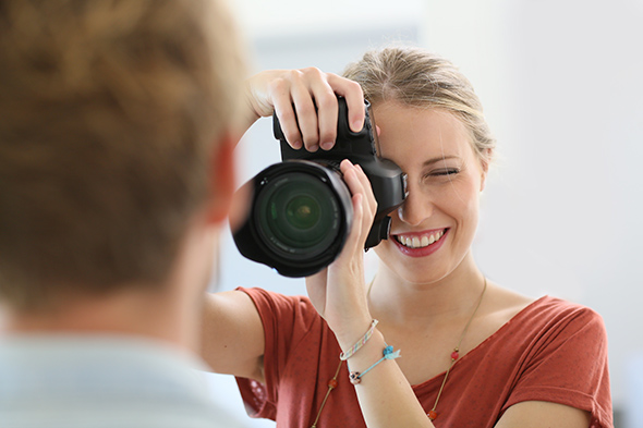 fashion photographer via Shutterstock