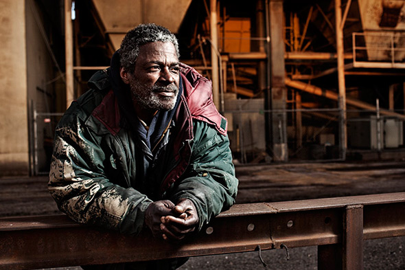 Aaron Draper Underexposed11 Fotógrafo cria série para dar visibilidade a moradores de rua