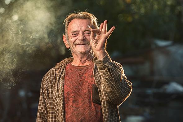 Aaron Draper Underexposed15 Fotógrafo cria série para dar visibilidade a moradores de rua