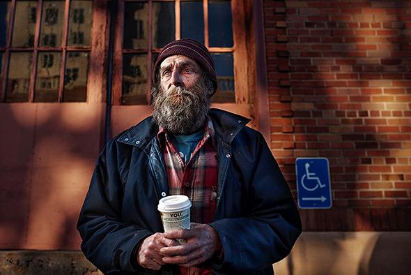 Aaron Draper Underexposed8 Fotógrafo cria série para dar visibilidade a moradores de rua