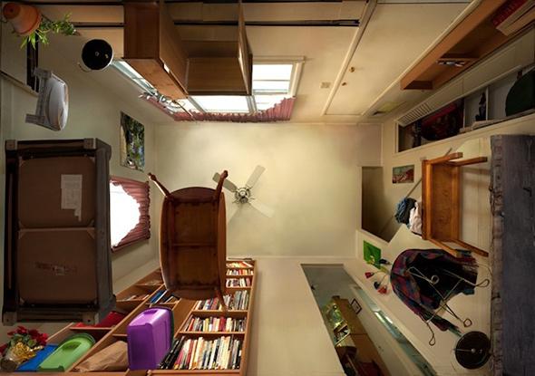 9Michael RohdeDebaixoParaCima Domine a perspectiva como elemento de composição