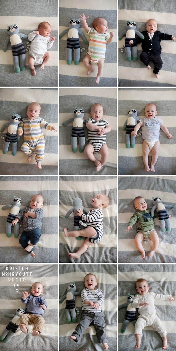 KristenHoneyCuttPhoto 18 ideias Criativas Para Fotografar o Crescimento do Bebê