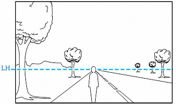 LinhadoHorizonte Domine a perspectiva como elemento de composição