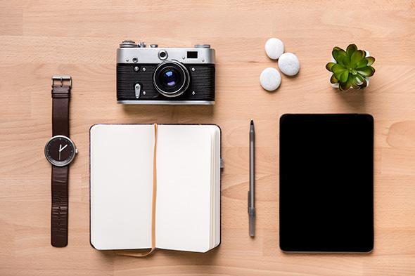 Caderno de anotação – via Shutterstock
