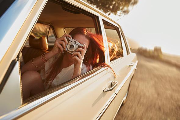 Fotografando no carro 5 Bons Hábitos Fotográficos Para Começar Hoje!