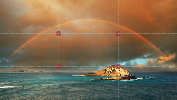 arco-íris-no-Hawaii---Regra-dos-terços