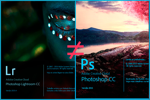 DiferençasLRPS  Entendendo a Diferença Entre Lightroom e Photoshop