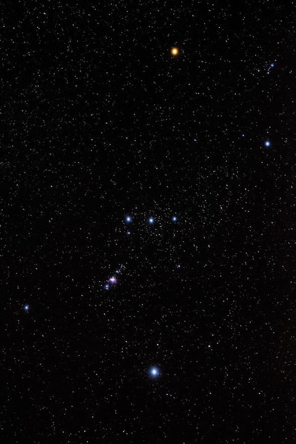 5 Orion Constellation 640x960 A Real Importância da Resolução Fotográfica da Sua Câmera