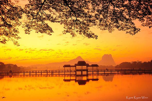 11. Kyaw Kyaw Winn Hpa Sunrise Uma viagem fotográfica em Myanmar