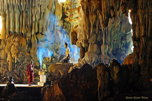 12. Kyaw Kyaw Winn Burma Cave Uma viagem fotográfica em Myanmar