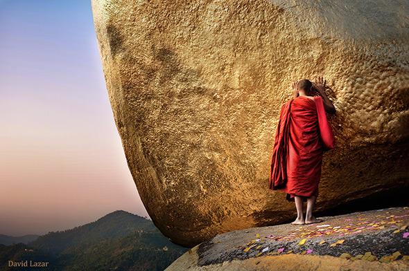 6. David Lazar Golden Rock Myanmar Uma viagem fotográfica em Myanmar