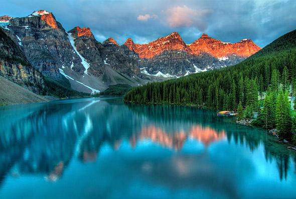 Lago-Moraine