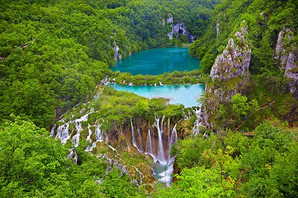 Lago Plitvice Fotos mais Nítidas com a Regra da Reciprocidade