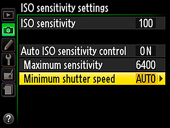 Nikon Auto ISO Sensitivity Settings Fotos mais Nítidas com a Regra da Reciprocidade