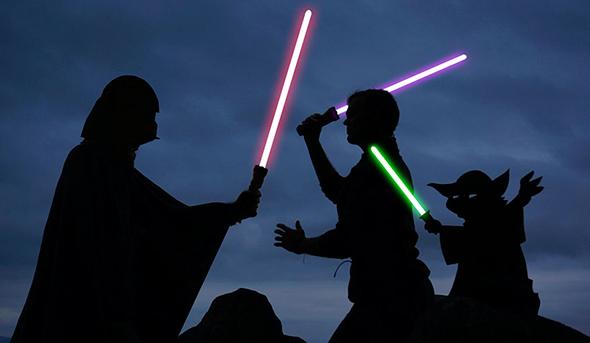 Star Wars Silhuetas Mágicas