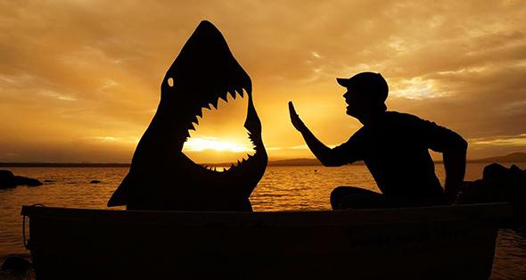 Tubarão Silhuetas Mágicas