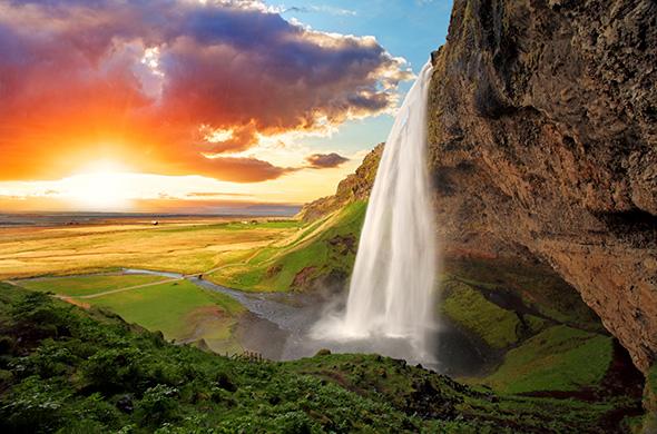 Cachoeira na Islândia Modo Manual 3 Razões para Fotografar no Modo Manual