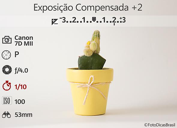 3CompensaçaoFundoBranco Fotometria2Low Compensação de Exposição (EV+/ )