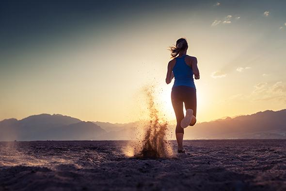 Correndo na areia 12 Dicas para fotografar Esportes