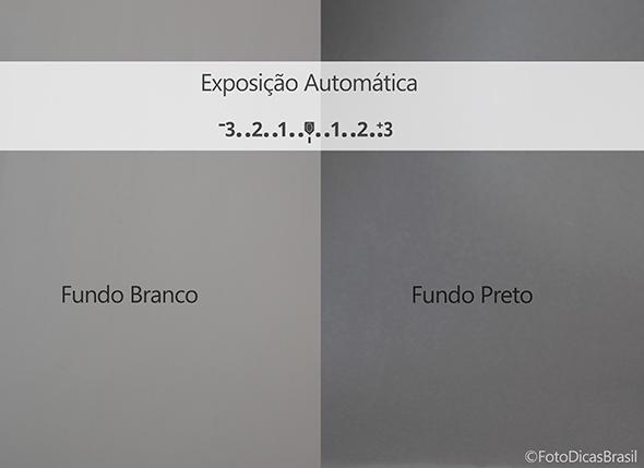 Exposição automática 1 Compensação de Exposição (EV+/ )