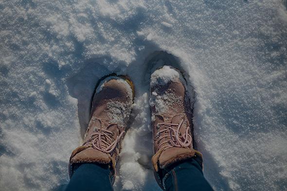 Pés na Neve Compensação de Exposição (EV+/ )