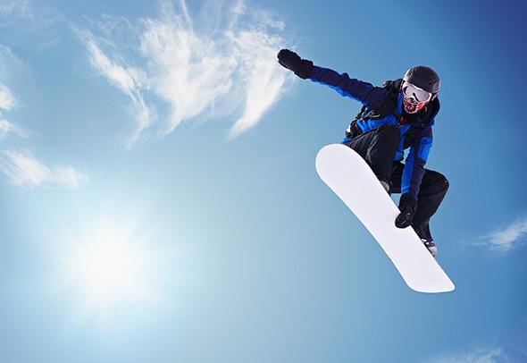 Snowboarder 12 Dicas para fotografar Esportes