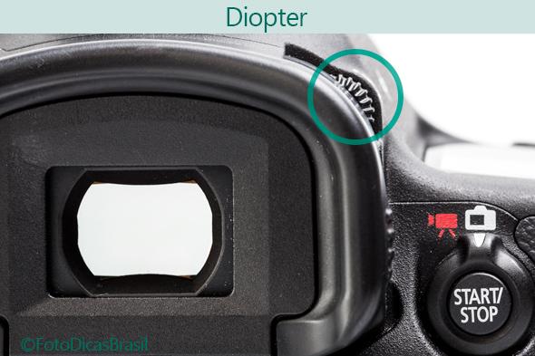 Diopter Viewfinder Viewfinder ou LCD? O que é melhor para enquadrar suas fotos?