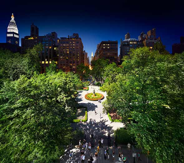 Gramercy Park NYC Low A Passagem do Tempo Capturada em uma Única Foto