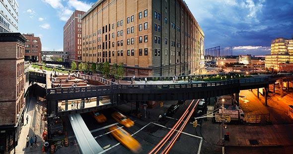 High Line NYC Low A Passagem do Tempo Capturada em uma Única Foto