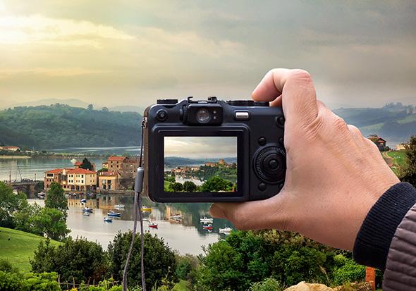 Lcd view Viewfinder ou LCD? O que é melhor para enquadrar suas fotos?