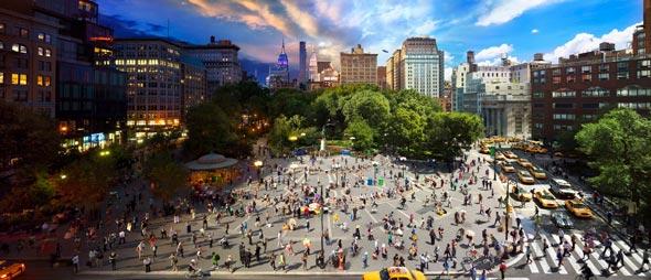 Union Square Low A Passagem do Tempo Capturada em uma Única Foto