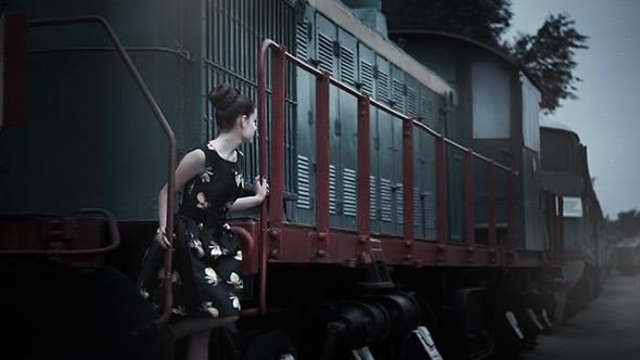 5 Estaciones y vías de tren Como e Onde Encontrar Fundos Para Seus Retratos Externos