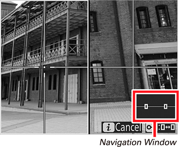 14Nikon Split Screen Display Zoom Guia Completo de Distância Hiperfocal