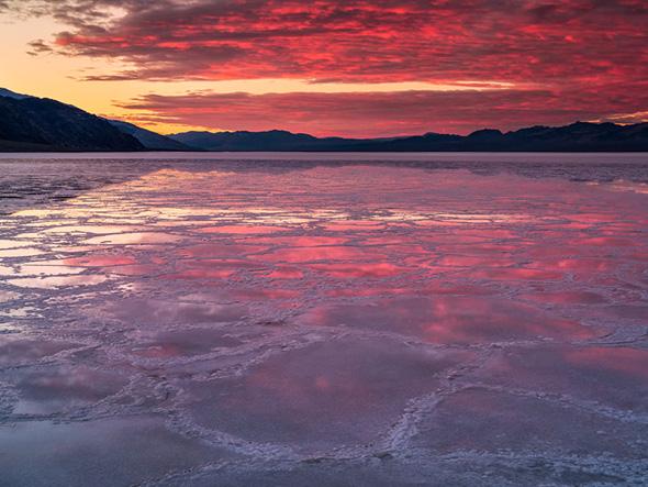 15Sunrise Badwater Reflection 960x720 Guia Completo de Distância Hiperfocal