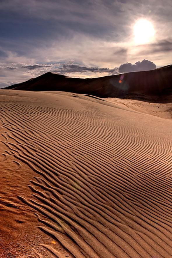 10. 20091024 Great Sand Dunes 420 HDR Tutorial Para Fotografia  HDR