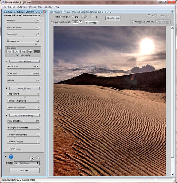 14. Sand Dunes HDR 2 924x960 Tutorial Para Fotografia  HDR