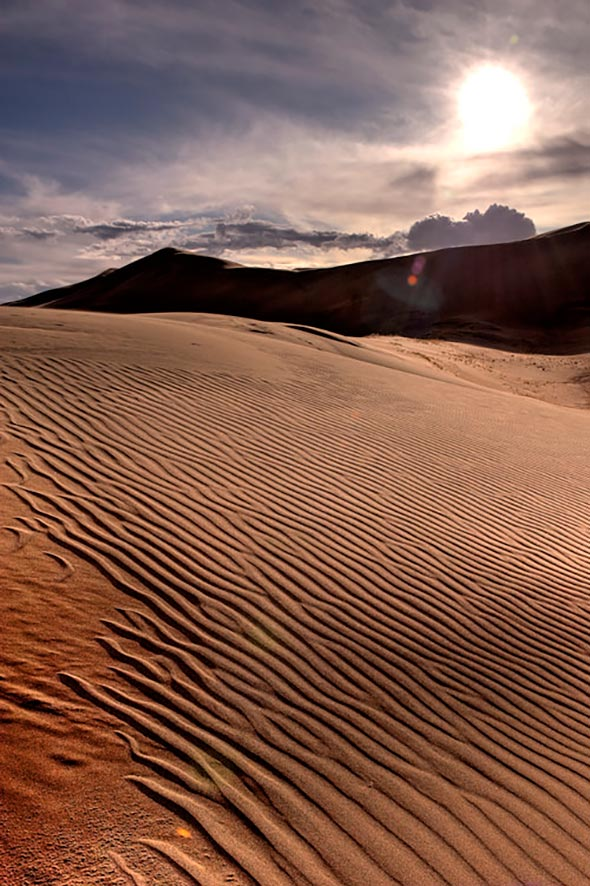 15. 20091024 Great Sand Dunes 420 HDR Tutorial Para Fotografia  HDR