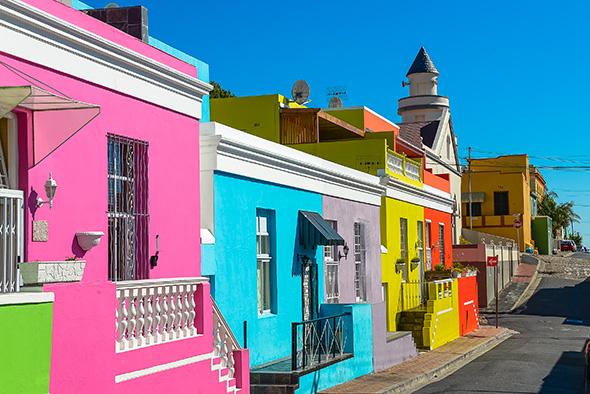 Bo Kaap Cidade do Cabo 10 cidades coloridas para inspirar sua vontade de viajar (e fotografar)