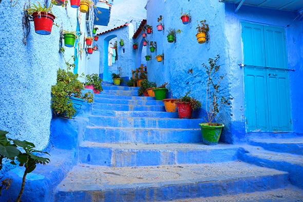 Chefchaouen Marrocos 10 cidades coloridas para inspirar sua vontade de viajar (e fotografar)
