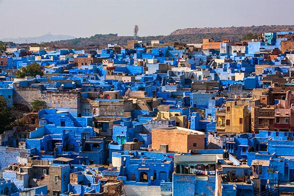 Jodhpur Índia 10 cidades coloridas para inspirar sua vontade de viajar (e fotografar)