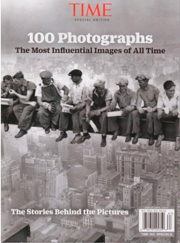 Capa Time TIME – 100: As Imagens Mais Influenciadoras de Todos os Tempos